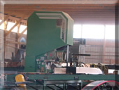 Our sawmill in action